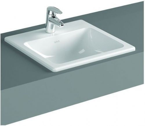 Vitra S20 Countertop Basin 500mm Square